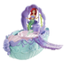 disney princess ariel fountain bubble boat