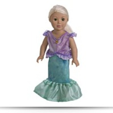 Buy 41240 Mermaid Princess Dress For 18 Doll