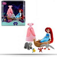 Ariel The Little Mermaid Playset Mini