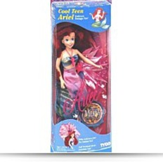 Buy Disney Cool Teen Ariel Doll The Little