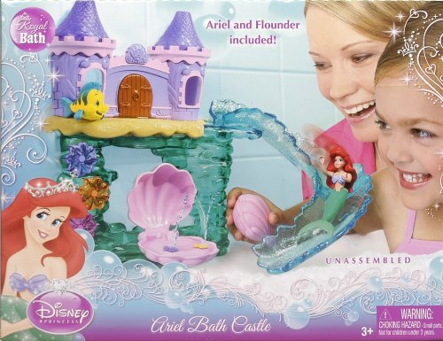 Disney Princess Ariel Bath Castle The Little Mermaid Dolls