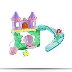 Disney Princess Ariel Bath Castle