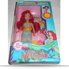 Disneys Ariel Doll Tropical Ariel New