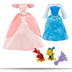 Buy Princess Ariel Doll Wardrobe And Friends