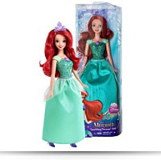 Sparkling Princess Ariel 11 Doll