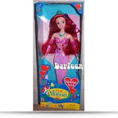 Valentine Ariel Little Mermaid Doll 1997